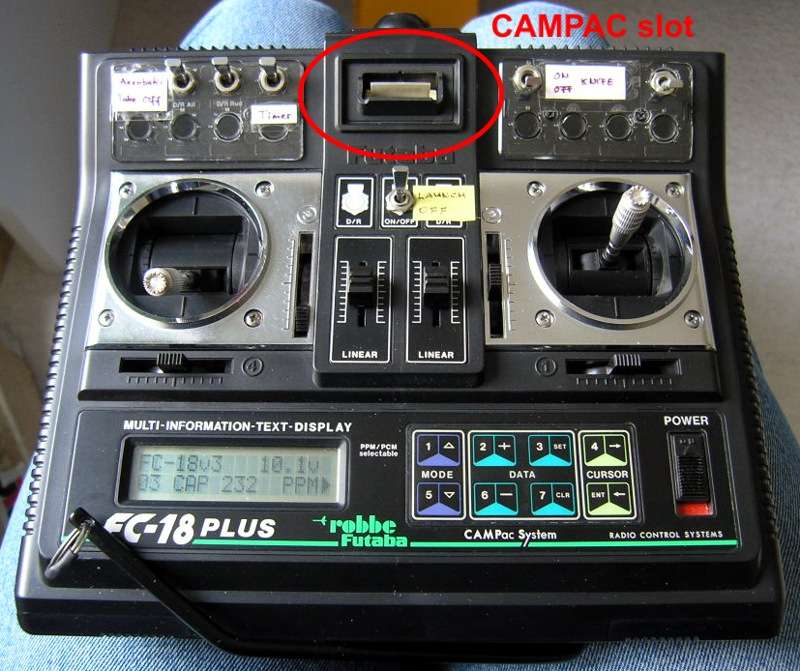 Campac Clones For Futaba R C Transmitters